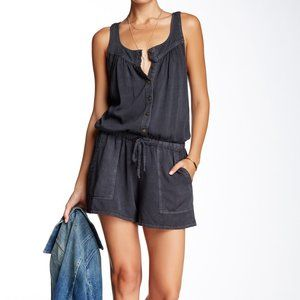 Current/Elliott – The Ruby Romper WASHED BLACK